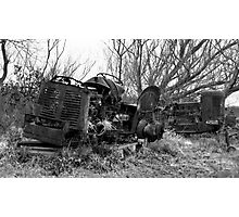 Once Were Workhorses (#2 - mono) Photographic Print