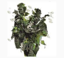 Metal Gear Solid - Yoji Shinkawa Artbook (Scan) Kids Tee