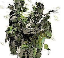 Metal Gear Solid - Yoji Shinkawa Artbook (Scan) by frictionqt