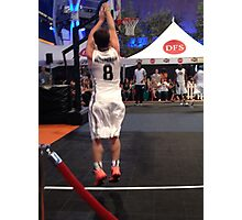 JHutch jump shot Photographic Print