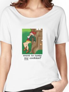 Want to Taste My cookies? Women's Relaxed Fit T-Shirt