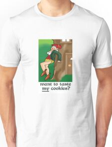 Want to Taste My cookies? Unisex T-Shirt