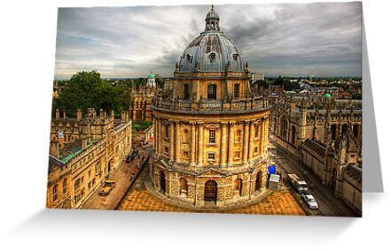 Radcliffe Camera Oxford by nick board