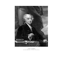 President John Adams Photographic Print