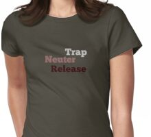 Trap Neuter Release 2 Womens Fitted T-Shirt