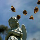 Angel and Butterflies by Jim McDonagh