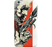 Metal Gear Solid 2: Sons of Liberty - Yoji Shinkawa Artbook (Scan) iPhone Case/Skin