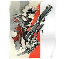 Metal Gear Solid 2: Sons of Liberty - Yoji Shinkawa Artbook (Scan) Poster