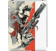 Metal Gear Solid 2: Sons of Liberty - Yoji Shinkawa Artbook (Scan) iPad Case/Skin
