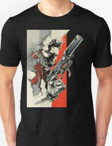 Metal Gear Solid 2: Sons of Liberty - Yoji Shinkawa Artbook (Scan) Unisex T-Shirt
