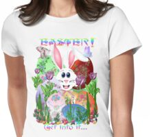 Easter!  Get into it... Womens Fitted T-Shirt