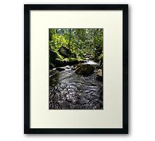 gunung kawi, bali Framed Print