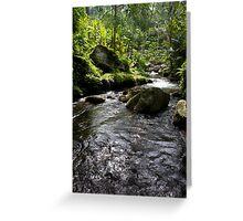 gunung kawi, bali Greeting Card