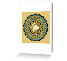 Fleuron Composition No. 231 Greeting Card