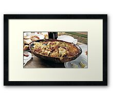 The Outlaw Lunch Framed Print