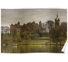 Linlithgow Loch View Poster