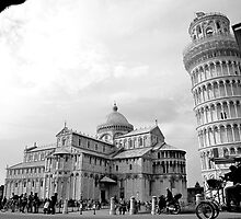 Pisa, Italy by Britland Tracy