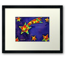 Shooting Star Framed Print
