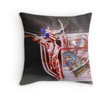 200 km per hour. Throw Pillow