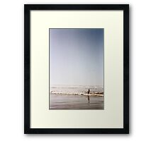 Cannon Beach Frolic Framed Print