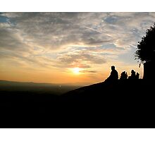 Sunset (Fiesole, Italy) Photographic Print