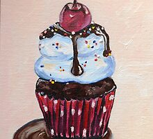 Chocolate Cupcake with a Cherry On Top by Ranisha