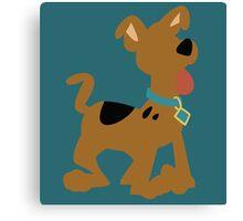 Pup Scooby Doo Canvas Print