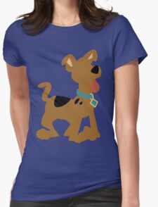 Pup Scooby Doo Womens Fitted T-Shirt