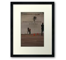 Sterling Invite Framed Print
