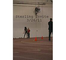 Sterling Invite Photographic Print