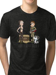 MORTY GEAR SOLID V Tri-blend T-Shirt