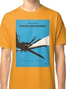 No260 My Scissorhands minimal movie poster Classic T-Shirt