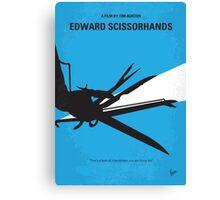 No260 My Scissorhands minimal movie poster Canvas Print
