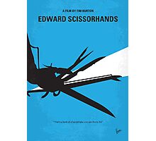 No260 My Scissorhands minimal movie poster Photographic Print