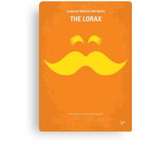 No261 My THE LORAX minimal movie poster Canvas Print