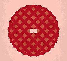 No262 My AMERICAN PIE minimal movie poster by JinYong