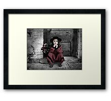 Waiting For A Change Framed Print