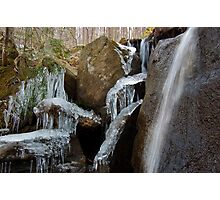 Icicle Spectacular - Allegheny National Forest Photographic Print