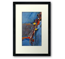 Road To Damascas Framed Print