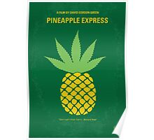 No264 My PINEAPPLE EXPRESS minimal movie poster Poster