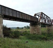 Crookwell Line - Wollondilly River Bridge (2) by DashTravels