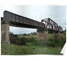 Crookwell Line - Wollondilly River Bridge (2) Poster