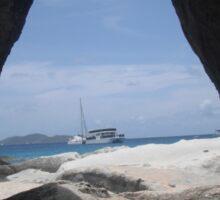 Virgin Islands Cave Hopping Sticker