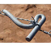 barbwire tensioner Photographic Print