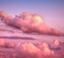 Kissing Cumulus... by Donnie Voelker