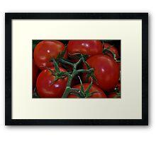 """ Farmers Market "" Framed Print"