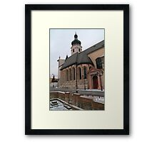 Cathedral of Our Lady Framed Print
