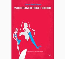 No271 My ROGER RABBIT minimal movie poster T-Shirt