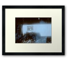 blue diaries once Framed Print