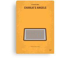 No273 My Charlies Angels minimal movie poster Canvas Print